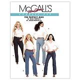 McCall's Patterns M5894 Misses'/Women's Jeans, Size B5 (8-10-12-14-16) (Tamaño: B5 (8-10-12-14-16))