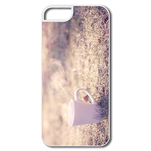 Designed Tea Cup Cool Iphone 5 5S Case For Gift