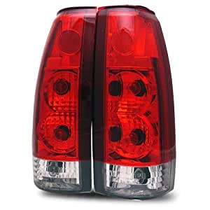 Chevy Full Size Red/Clear Tail Lights