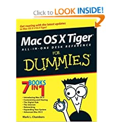 Mac OS X Leopard All-in-One Desk Reference For Dummies