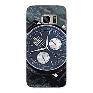 Enticing Wrist Watch Multicolor Back Case Cover for Galaxy S7