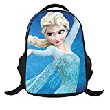 Jenny Trinh Elsa and Anna with Olaf Backpack School Bag Rucksack
