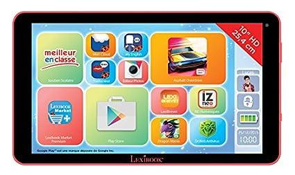Lexibook - MFC510FR1 - Tablette Tactile - Fluo Xl - Premium Edition