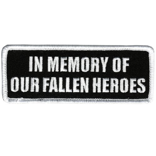 Hot Leathers In Memory Fallen Heroes Patch (4