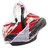 Rain Cover To Fit Maxi-Cosi cabriofix & pebble rain cover Fast Dispatch â New â VENTILATED (baby pink)