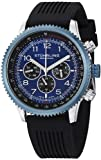 "Stuhrling Original Mens 858R.01 ""Concorso Silhouette Sport"" Stainless Steel and Rubber Watch"