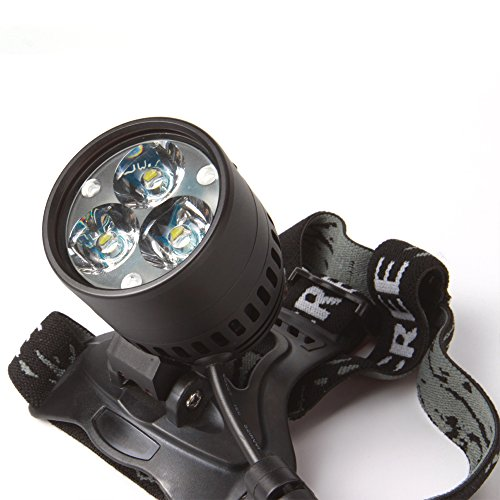Led Bicycle Headlight Cree/Xml-U3*3 35W 3000Lumens 6*18650 Battery