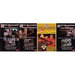 Richard Bastillo 4 DVD set