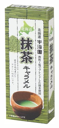 Aliments Road South Hokkaido Uji jardin vert thé caramel 18 comprimés x 10