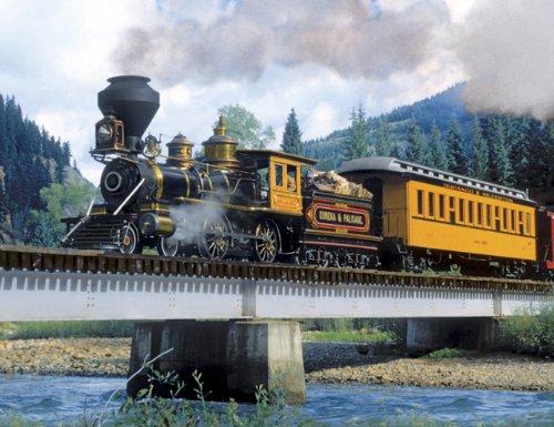 "Cheap Fun Springbok ""Durango Express"" 500 Piece Jigsaw Puzzle (B003CYKY66)"