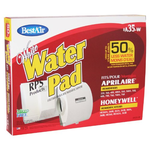 BestAir A35W Aprilaire 35 Paper Wickl Waterpad