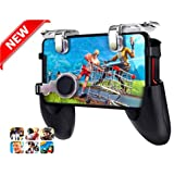 PUBG Mobile Game Controller & Best Shooting Trigger Model 2019 for iPhone Android | Comfortable Gamepad with Shooting Buttons for All Phones Rules of Survival Fortnite
