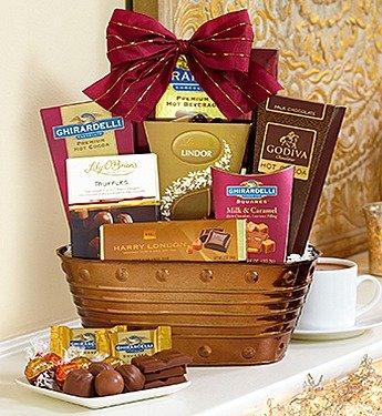 PREMIER CHOCOLATES GIFT BASKET