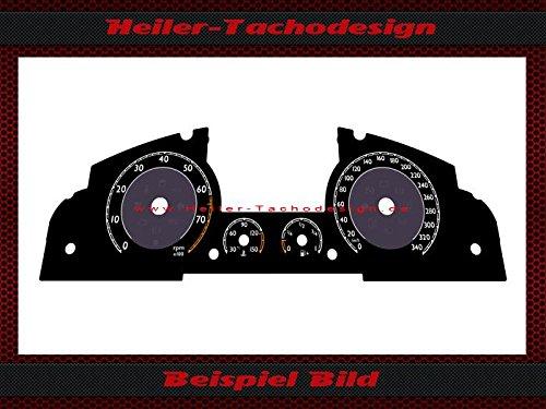 Tachoscheibe Bentley Continental GT 2011 MPH zu KMH