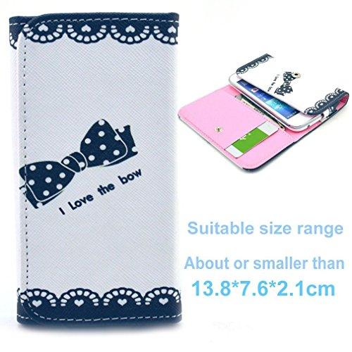 (3#L) Portemonnaie PU-Leder Multipurpose