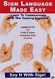 echange, troc Sign Language Series 21-24 [Import anglais]