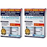 Lipozene Maximum Strength Dietary Supplement Fat Burner 4 Bottles 120 Capsules