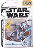 Star Wars Animated Clone Wars General Grievous Figure