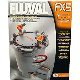 Hagen Fluval Canister Filter FX5 with Foam Media Item #10218