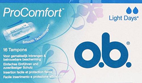O.B. - Tamponi, Facile inserimento e protezione affidabile -   16 pezzi