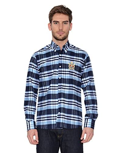 Polo Club Camisa Hombre Checks