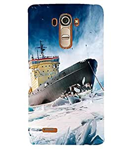 PRINTSHOPPII SEA NATURE SHIP Back Case Cover for LG G4::LG G4 H815