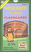 Word Roots Flashcards Beginning Deck Grades 3-4