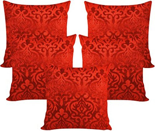 AMAZON GREAT INDIAN FESTIVAL SALE DISCOUNT - CHOICE OF COLORS...!!! VELVET CUSHION COVERS (16