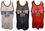 Review MENS DESIGNER BRAVE SOUL ALOYSIUS NYC BASKETBALL VARSITY MESH BAGGY GYM VEST TOP