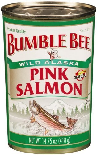 Bumble Bee Salmon Pink Canned, 4/14.75oz Cans