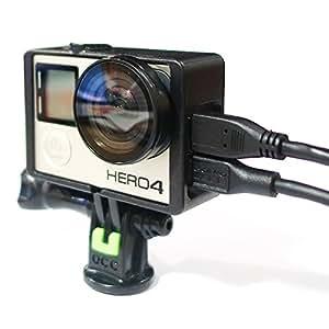 OCC The Frame ネイキッドフレーム for GoPro Hero 4 + 強化 トライポッドマウント + UVレンズ守る セット 商品