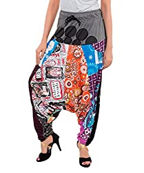 Feminine Women Multicolor Hip Hop Skirt