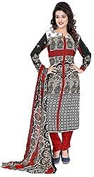 Khushali Fashion Women's Crepe Dress Material (KPNDV22007_Multi)
