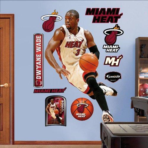 Fathead Nba Miami Heat Dwyane Wade Wall Graphic front-1072266