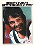 Roberto Duran Autographed/Hand Signed Magazine Page Photo PSA/DNA #S42287