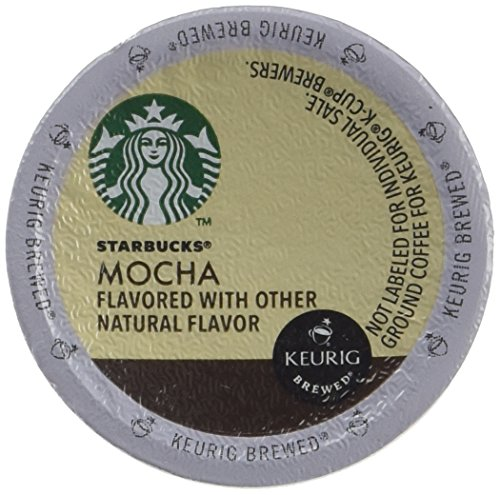 Starbucks Mocha K Cup - .35 oz , 16 cups (White Mocha Keurig Cups compare prices)