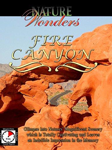 Nature Wonders - FIRE CANYON - U.S.A.