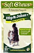 NaturVet For Cats HIP & JOINT Plus Catnip 50 Soft Chews