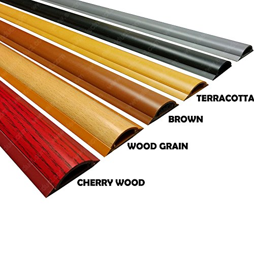 cable shield cord cover model csx 2 length 59 color wood grain electronics electronics. Black Bedroom Furniture Sets. Home Design Ideas