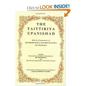 Amazon.com: The Taittiriya Upanishad with Commentaries of Sri ...