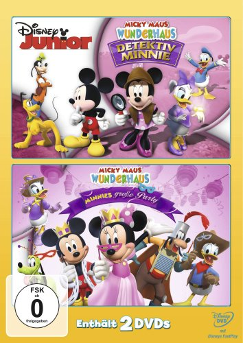 Micky Maus Wunderhaus - Detektiv Minnie / Minnies grosse Party [2 DVDs]