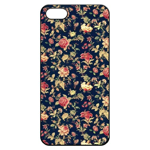 Discover Bargain Vintage Embroidery Floral Iphone 5 5s Hard Back Shell Case Cover Skin for Iphone 5/...