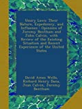 img - for Usury Laws: Their Nature, Expediency, and Influence : Opinions of Jeremy Bentham and John Calvin, with Review of the Existing Situation and Recent Experience of the United States book / textbook / text book