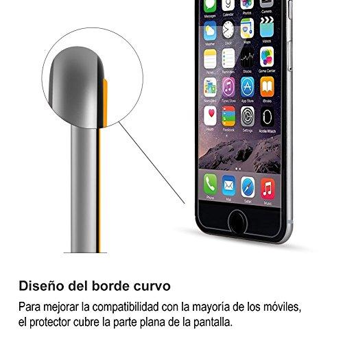 Protector Pantalla iPhone 6s, Protector Pantalla iPhone 6 HIPPOX 0.2mm Protector de Pantalla de Vidrio Templado para iPhone 6/6s [Garantía de por Vida]