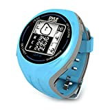 Pyle PSGF605BL GPS Smart Golf Watch with Course Recognition, Green Locator, Distance Calculator and Scoring System Color: Blue