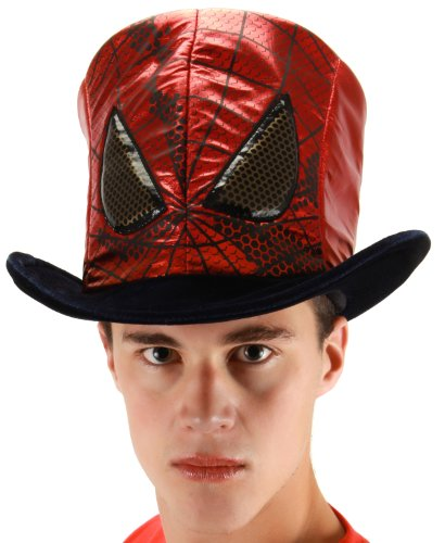 elope Marvel Men's Spider-Man Movie Novelty Hat, Red, One Size