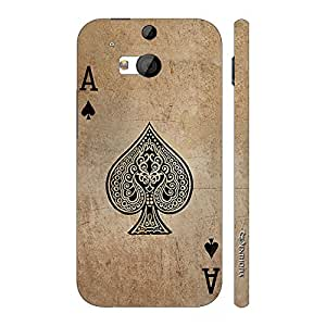 Enthopia Designer Hardshell Case BE THE ACE OF SPADES Back Cover for HTC One M8