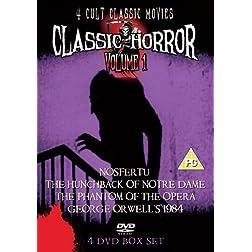 Classic Horror Volume 1: 4 Classic Cult Movies