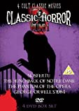 Classic Horror Volume 1 (Nosferatu, Hunchback Of Notre Dame, The Phantom Of The Opera, George Orwell's 1984) [DVD]
