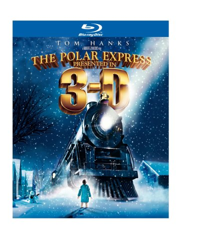 Cover art for  The Polar Express Presented in Anaglyph 3-D [Blu-ray]